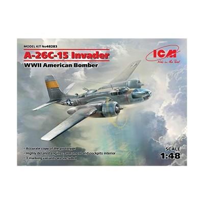ICM 1/48 第二次世界大戦 アメリカ軍 A-26C-15 インベーダー プラモデル 48283