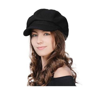 帽子 レディース キャスケット マリンキャップ 婦人帽子 キャップ 秋冬 ウール 小顔効果 フリーサイズ 自転車 かわいい おしゃれ カジュアル 無地