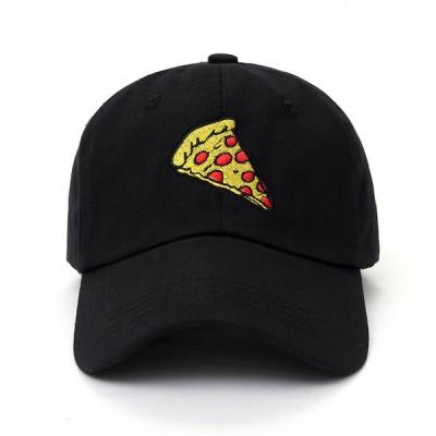 ピザ ベース ボール キャップ 野球帽 帽子 スポーツ ロゴ 刺? デザイン カジュアル ソリッド ハット 男性 女性 スナップバック アウトドア