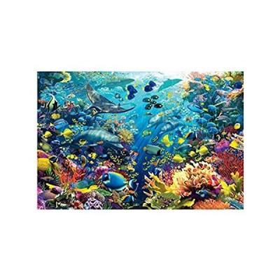 水中世界の木製パズル500/1000/1500/2000/3000/4000/5000/6000子供と大人のゲームのおもちゃ家族の芸術の装飾 並行輸入品