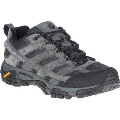 メレル ブーツ&レインブーツ シューズ メンズ Moab 2 Vent Hiking Shoe (Men's) Granite Pigskin Leather/Mesh