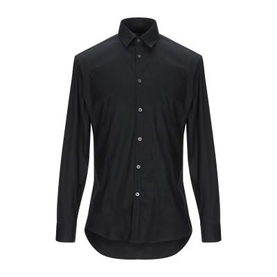 ダニエレ アレッサンドリーニ オム DANIELE ALESSANDRINI HOMME シャツ ブラック 38 コットン 97% / ポリウレタン