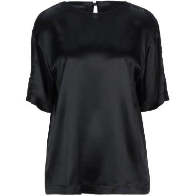 アルベルタ フェレッティ ALBERTA FERRETTI ブラウス ブラック 44 シルク 100% / コットン / ナイロン / 指定外繊維