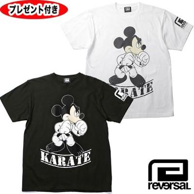 リバーサル   Mickey Mouse KARATE TEE  コラボ    reversal REVERSAL   Tシャツ    ミッキー ストリート 空手 カラテ rvMKY14aw001  ミッキーマウス