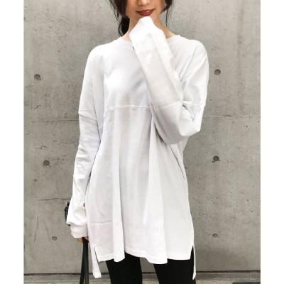 ファッションレター Fashion Letter ベーシックコットンゆるTシャツ 20SS (ホワイト)