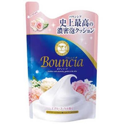 牛乳石鹸 バウンシアボディソープ エアリーブーケの香り 替 400mL バウンシアBSエアリーBツメカエ