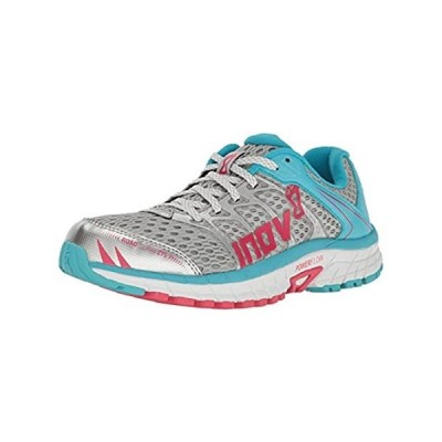 Inov-8 Women's Road Claw 275 Running Shoe, Silver/Blue/Pink, 5.5 E US