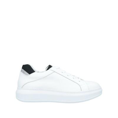 ROBERTO BOTTICELLI スニーカー&テニスシューズ(ローカット) ホワイト 45 革 / 紡績繊維 スニーカー&テニスシューズ(ローカ
