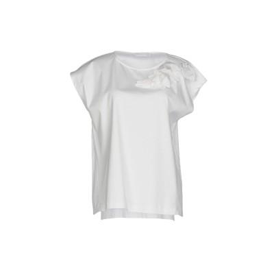 ファビアナフィリッピ FABIANA FILIPPI T シャツ ホワイト 44 コットン 100% T シャツ