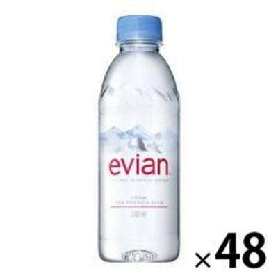 〔送料無料/北海道・沖縄県を除く〕 エビアン Celebrate Japanボトル 330ml ペットボトル 48本 (24本入×2 まとめ買い)