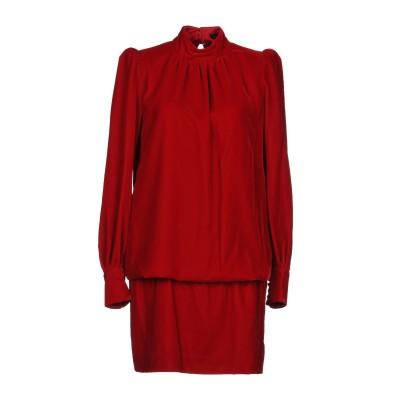 マーク ジェイコブス MARC JACOBS ミニワンピース&ドレス レッド 0 ポリエステル 100% ミニワンピース&ドレス