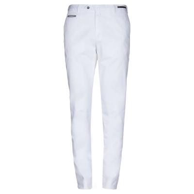 PT Torino パンツ ホワイト 52 98% コットン 2% ポリウレタン パンツ
