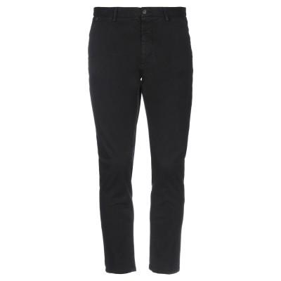メッサジェリエ MESSAGERIE パンツ ブラック 46 コットン 98% / ポリウレタン 2% パンツ