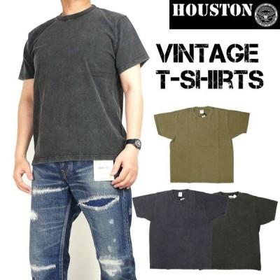 HOUSTON ヒューストン メンズ Tシャツ 半袖ビンテージTシャツ 21465