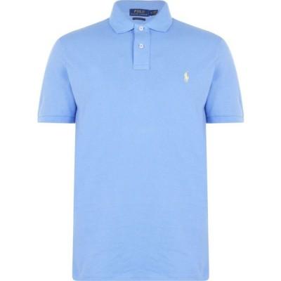 ラルフ ローレン Polo Ralph Lauren メンズ ポロシャツ トップス Custom Slim Fit Polo Cabana Blue