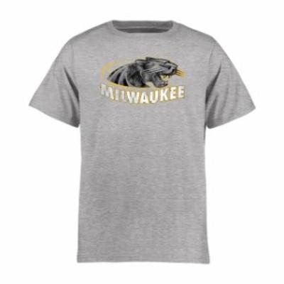 Fanatics Branded ファナティクス ブランド スポーツ用品  Wisconsin-Milwaukee Panthers Youth Ash Classic Primary T-Shirt