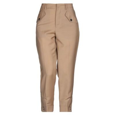 ヌメロ ヴェントゥーノ N°21 パンツ サンド 38 モヘヤ 60% / バージンウール 40% パンツ