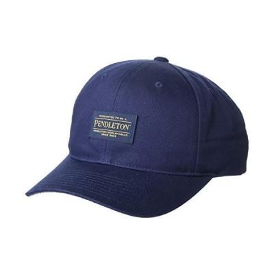 Pendleton メンズ ロゴ スナップバックハット US サイズ: One Size カラー: ブルー