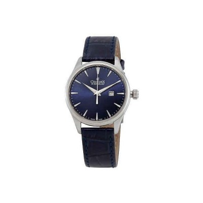 腕時計 シャーム Charmex Blue Dial Blue Leather Ladies Watch 6388
