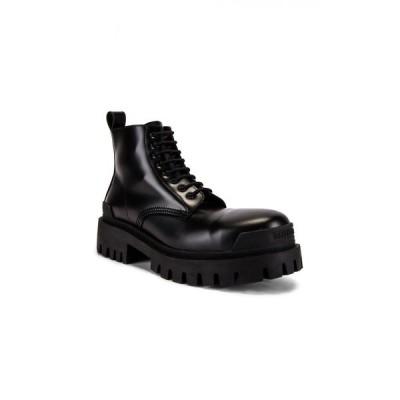 バレンシアガ Balenciaga メンズ ブーツ シューズ・靴 strike bootie Black