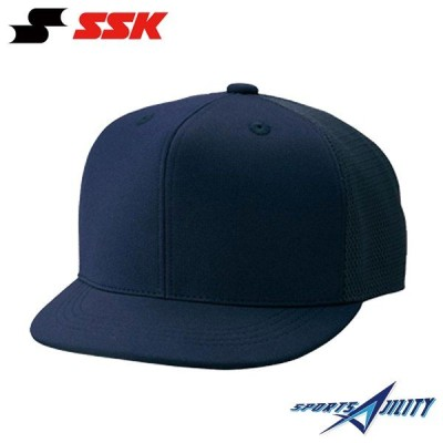 野球 審判用品 審判用帽子 【エスエスケイ/SSK】 審判帽子 (六方半メッシュタイプ)  (BSC45) 審判員用品