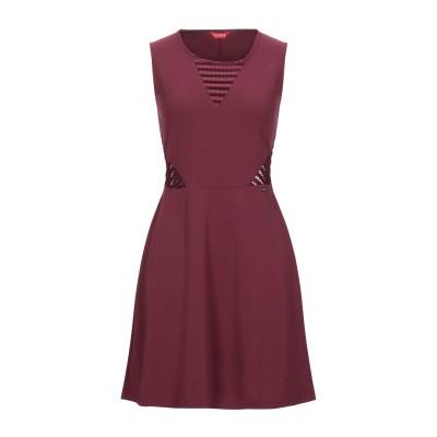 ゲス GUESS ミニワンピース&ドレス ボルドー XS ポリエステル 95% / ポリウレタン 5% ミニワンピース&ドレス