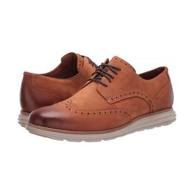 Cole Haan コールハーン メンズ 男性用 シューズ 靴 オックスフォード 紳士靴 通勤靴 Original Grand Wingtip Oxford - CH British Tan Nubuck/Hawthorn