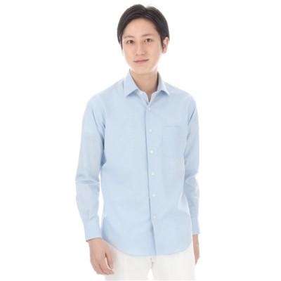 ブロードワイドカラーカジュアルシャツ