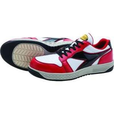 ディアドラ 安全作業靴 グレーブ  レッド/ホワイト/ブラック 23.5cm(品番:GR312-235)『1229928』