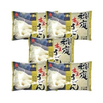 【林泉堂】秋田ご当地麺セット(2人前×5袋) (稲庭本生うどん)
