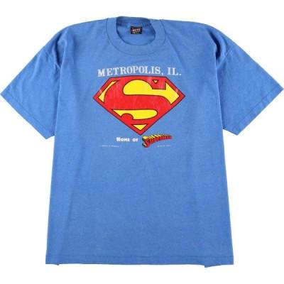 90年代 スーパーマン Tシャツ USA製 メンズXXXL /eaa060701