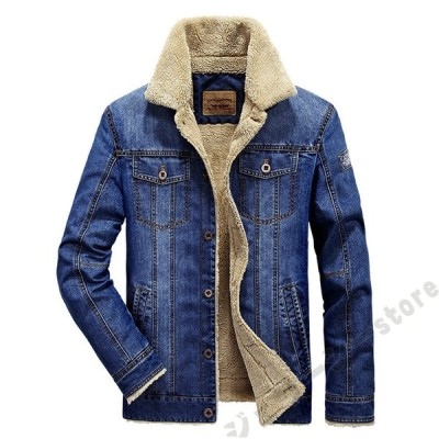 裏起毛 ジャケット メンズ デニムジャケット テーラードジャケット 長袖 ブルー 襟 カジュアルジャケット 春夏 通気 綿 コットン