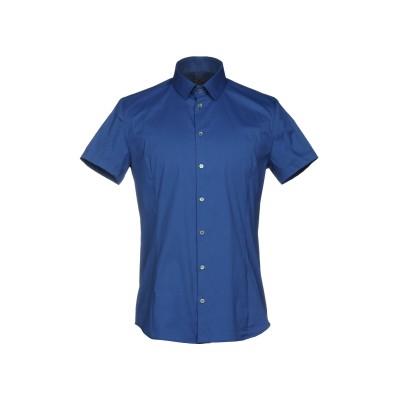 パトリツィア ペペ PATRIZIA PEPE シャツ ブルー 48 コットン 67% / ナイロン 27% / ポリウレタン 6% シャツ