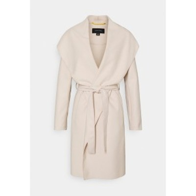 カンマ レディース コート アウター Classic coat - ivory ivory