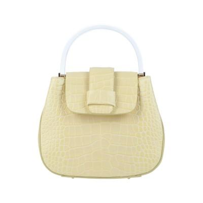 NICO GIANI ハンドバッグ ライトイエロー 革 / プラスティック ハンドバッグ