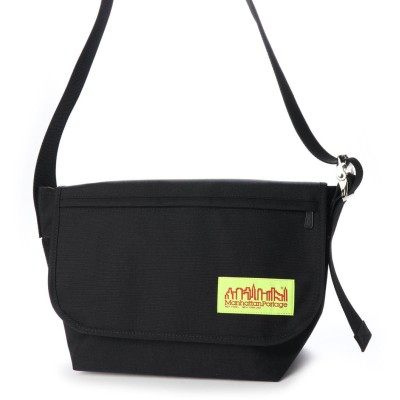 マンハッタンポーテージ Manhattan Portage Vintage Messenger Bag JR NYC Print 2020SS (Black)