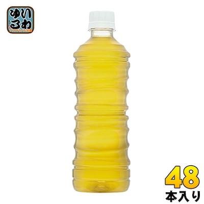綾鷹 ラベルレス 525ml ペットボトル 48本 (ペットボトル 24本入2 まとめ買い) コカコ