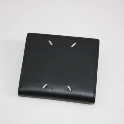 Maison Margiela / メゾンマルジェラ   2019SSS   S35UI0438 2つ折り財布   ブラック   I603012-P-6c6042ff603b316