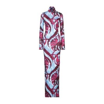 JUST CAVALLI チューブドレス ファッション  レディースファッション  ドレス、ブライダル  パーティドレス モーブ