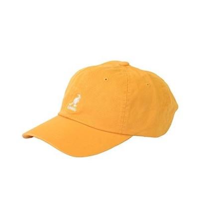 KANGOL(カンゴール) ウォッシュ ベースボール キャップ ローキャップ 帽子 ロゴキャップ ロゴ メンズ レディース サイズ調節可能
