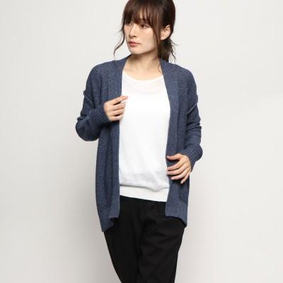 リネーム Rename ガウン風コットンカーディガン (ネイビー)