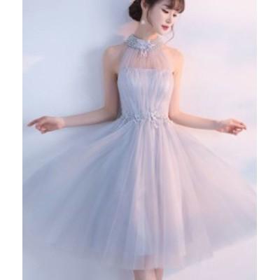 パーティードレス 結婚式 二次会 ワンピース 結婚式 お呼ばれ ドレス 20代 30代 40代 結婚式 お呼ばれドレス ビジュー パーティー ドレス