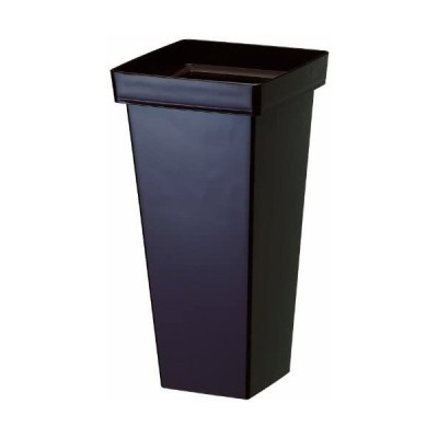 大和プラスチック-花桶・花筒-デコルテ-180×180×H350-ダークブラウン