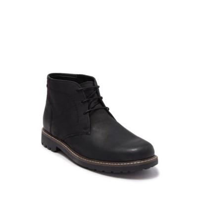 フローシャイム メンズ ブーツ&レインブーツ シューズ Field Leather Chukka Boot BLK NUBUCK