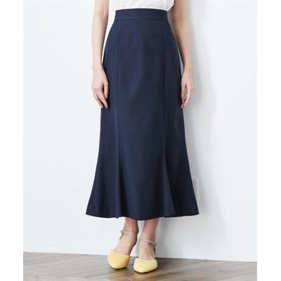 【大きいサイズ】 フェミニンストーリー マーメードロングスカート スカート, plus size skirts