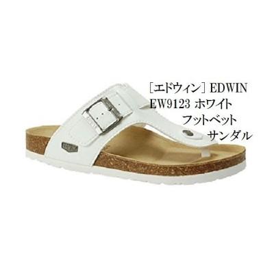 人気商品  つっかけ トング EW9123 フットベット サンダル EDWIN (エドウィン) メンズ
