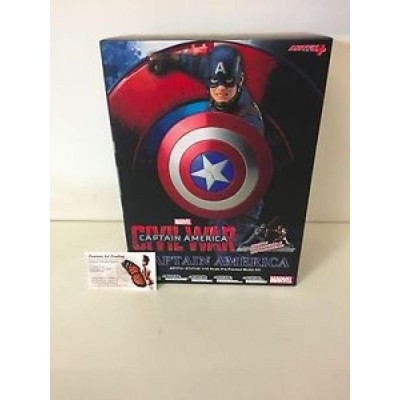 【海外からのお取り寄せ】artfx フィギュア CAPTAIN AMERICA: CIVIL WAR MOVIE Captain America ArtFX+ Statue