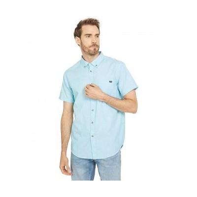 Billabong ビラボン メンズ 男性用 ファッション ボタンシャツ All Day Short Sleeve Woven - Teal