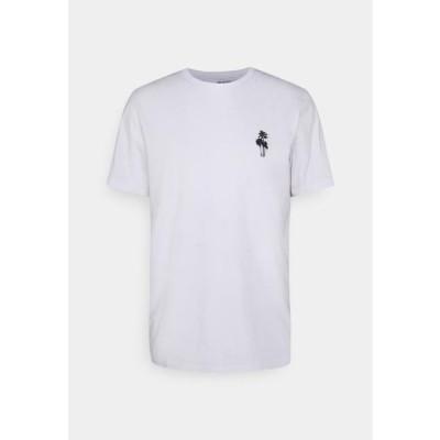 メンズ ファッション SLHHOLIDAY O NECK TEE - Basic T-shirt - bright white