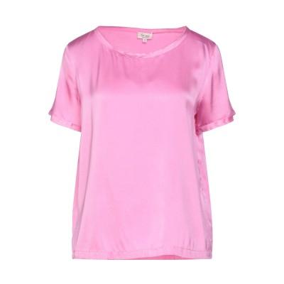 HER SHIRT ブラウス ピンク XL シルク 94% / ポリウレタン® 6% ブラウス
